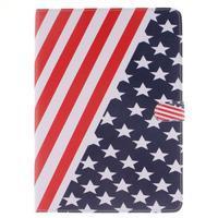 Knížkové pouzdro na tablet iPad Pro 9.7 - US vlajka - 1/7