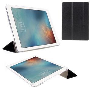 Trifold polohovatelné pouzdro na tablet iPad Pro 9.7 - černé - 1