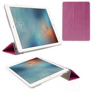 Trifold polohovatelné pouzdro na tablet iPad Pro 9.7 - rose - 1