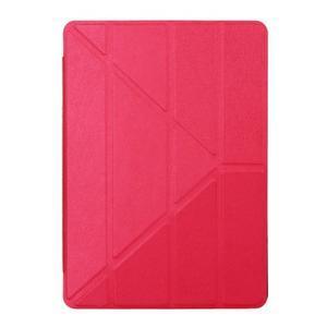 Extra origami polohovatelné pouzdro na iPad Pro 9.7 - červené - 1