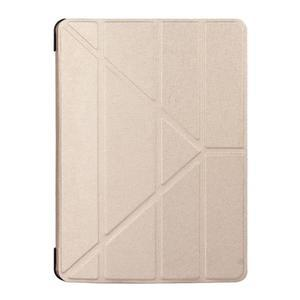 Extra origami polohovatelné pouzdro na iPad Pro 9.7 - zlaté - 1