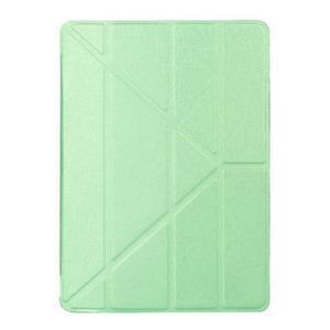 Extra origami polohovatelné pouzdro na iPad Pro 9.7 - zelené - 1