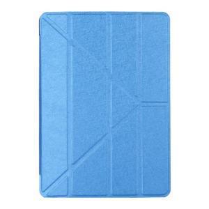 Extra origami polohovatelné pouzdro na iPad Pro 9.7 - modré - 1