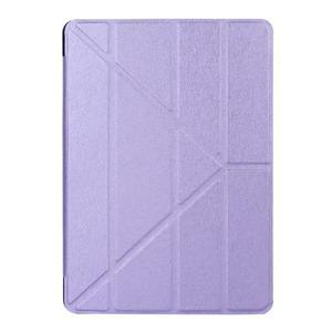 Extra origami polohovatelné pouzdro na iPad Pro 9.7 - fialové - 1