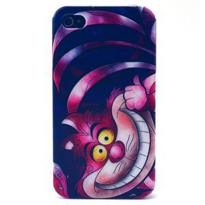 Emotive gelový obal na mobil iPhone 4 - kocour - 1