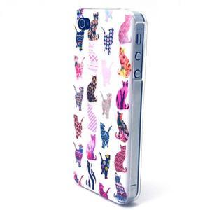 Emotive gelový obal na mobil iPhone 4 - kočičky - 1