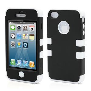 Extreme odolný kryt 3v1 na mobil iPhone 4 - bílý - 1