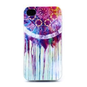 Emotive gelový obal na mobil iPhone 4 - lapač snů - 1