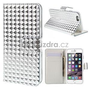 Cool style pouzdro na iPhone 6s a iPhone 6 - stříbrné - 1