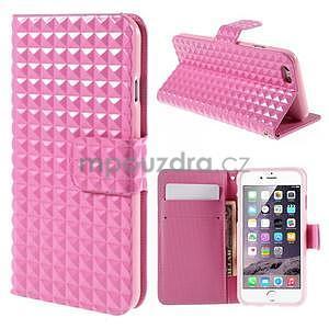 Cool style pouzdro na iPhone 6s a iPhone 6 - růžové - 1