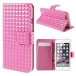 Cool style pouzdro na iPhone 6s a iPhone 6 - růžové - 1/7
