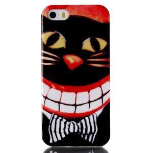 Gelový obal na mobil iPhone SE / 5s / 5 - kočka - 1