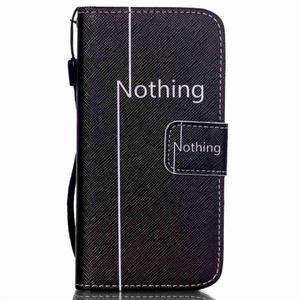 Peněženkové pouzdro na mobil iPhone SE / 5s / 5 - nothing - 1