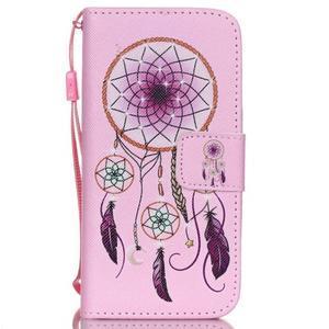 Peněženkové pouzdro na mobil iPhone SE / 5s / 5 - dream - 1