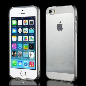 Gelový transparentní obal na iPhone SE / 5s / 5 - 1
