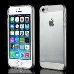Gelový transparentní obal na iPhone SE / 5s / 5 - 1/5