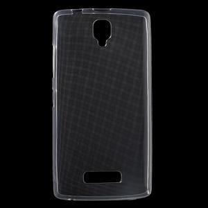 Ultratenký slim gelový obal na Lenovo A2010 - transparentní - 1