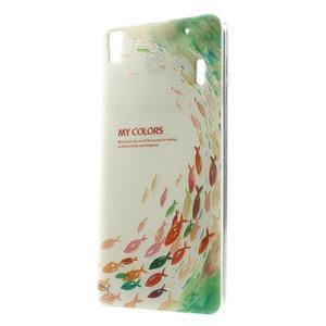 Softy gelový obal na mobil Lenovo A7000 / K3 Note - rybičky - 1