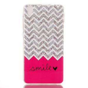 Softy gelový obal na mobil Lenovo S850 - smile - 1