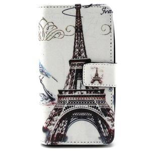 Style peněženkové pouzdro na LG Leon - Eiffelova věž - 1