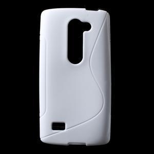 S-line gelový obal na mobil LG Leon - bílý - 1