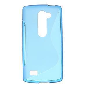 S-line gelový obal na mobil LG Leon - modrý - 1