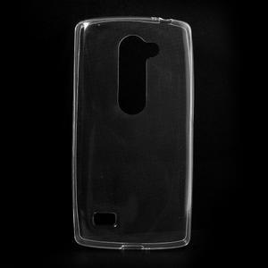 Ultratenký gelový obal na mobil LG Leon - transparentní - 1