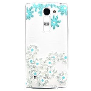 Transparentní gelový obal na mobil LG Spirit - sedmikrásky - 1