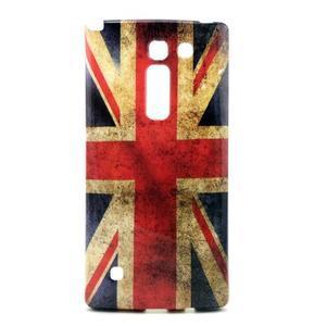 Gelový kryt na mobil LG Spirit - UK vlajka - 1