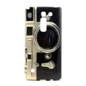 Gelový kryt na mobil LG Spirit - retro foťák - 1