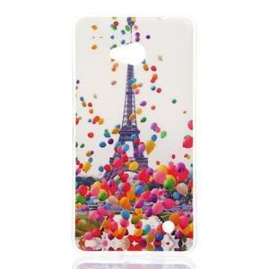 Softy gelový obal na mobil Microsoft Lumia 640 LTE - Eiffelova věž - 1