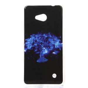 Softy gelový obal na mobil Microsoft Lumia 640 LTE - magický strom - 1