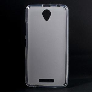 Gelový obal na mobil Lenovo A5000 - transparentní - 1
