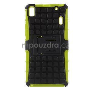 Odolné pouzdro na Lenovo K3 Note a Lenovo A7000 - zelené - 1