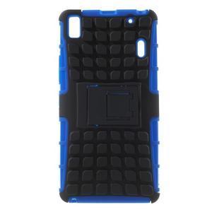 Odolné pouzdro na Lenovo K3 Note a Lenovo A7000 - modré - 1
