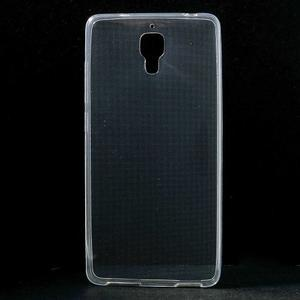Ultratenký slim gelový obal na Xiaomi Mi4 - transparentní - 1