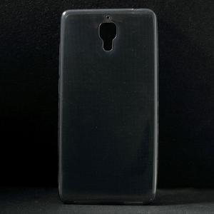 Ultratenký slim gelový obal na Xiaomi Mi4 - šedý - 1
