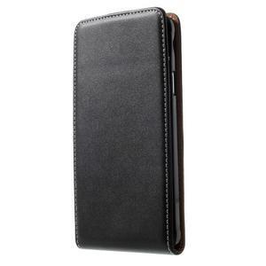 Flipové pouzdro pro Samsugn Galaxy Note 4 - černé - 1