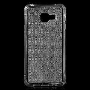 Diamonds gelový obal na Samsung Galaxy A3 (2016) - transparentní - 1