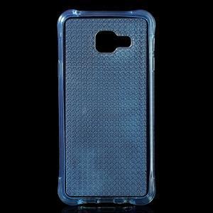 Diamonds gelový obal na Samsung Galaxy A3 (2016) - modrý - 1