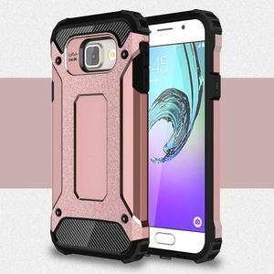 Extreme outdoor kryt 2v1 na mobil Samsung Galaxy A3 (2016) - růžový - 1