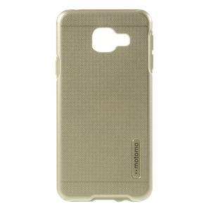 Odolný ochranný obal 2v1 na mobil Samsung Galaxy A3 (2016) - zlatý - 1