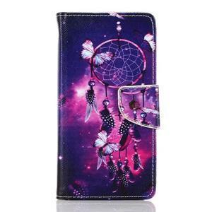 Rich PU kožené pouzdro na mobil Samsung Galaxy A3 (2016) - lapač snů - 1