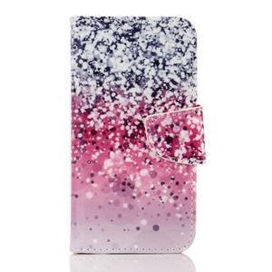 Rich PU kožené pouzdro na mobil Samsung Galaxy A3 (2016) - gradient - 1