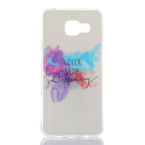 Softys gelový obal na mobil Samsung Galaxy A3 (2016) - nepřestávej snít - 1