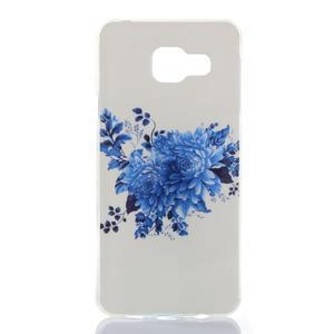 Softys gelový obal na mobil Samsung Galaxy A3 (2016) - květiny - 1