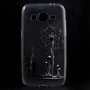 Ultratenký slim obal na Samsung Galaxy Core Prime - láska - 1