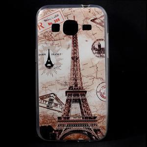 Ultratenký slim obal na Samsung Galaxy Core Prime - Eiffelova věž - 1