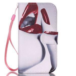Pictu pouzdro na mobil Samsung Galaxy Core Prime - rty - 1