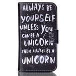 Emotive peněženkové pouzdro na Samsung Galaxy Core Prime - unicorn - 1/6